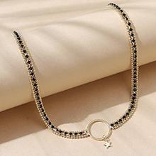 欧美创意法式小仙女百搭气质小星星项链
