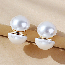 欧美复古气质大牌流行珍珠耳环