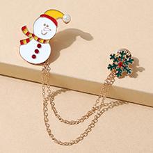 圣诞系列小清新ins潮流行百搭创意雪娃娃胸针