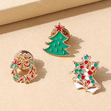 圣诞系列百搭小众流行小清新圣诞树胸针套